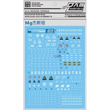 Dalin Water Decal  UC04 MG Jesta