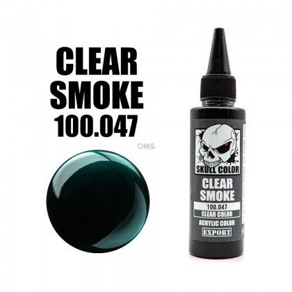 Paint Skull Color Clear Series 041-051