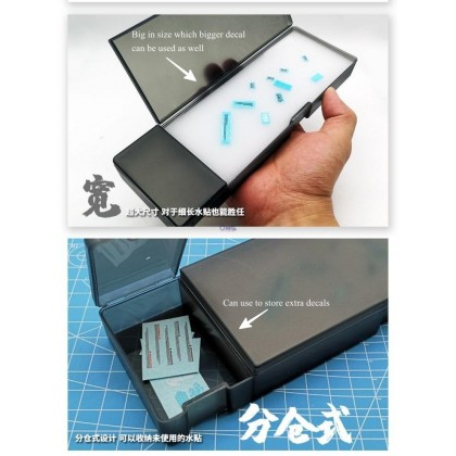 Tool Mo Shi MS068 Water Decal Apply Box